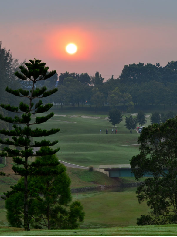 glenmary golf course sunset