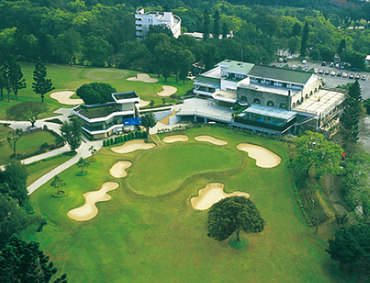 Taiwan Golf course and Golf Clubhouse